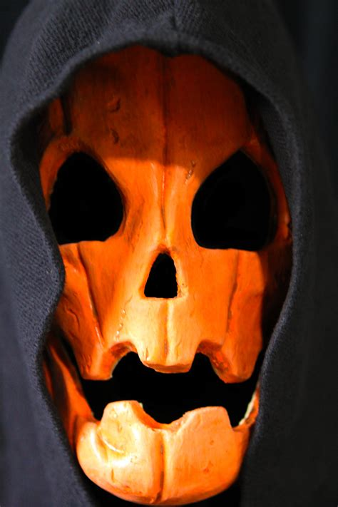 how to make a pumpkin mask for mask samhain pumpkin beyond the grave productions