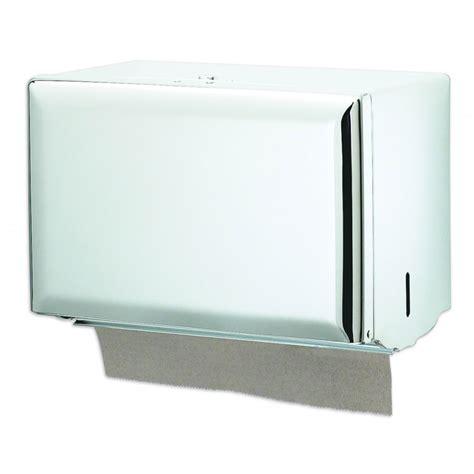 bathroom hand towel dispenser white steel singlefold hand towel dispenser unoclean