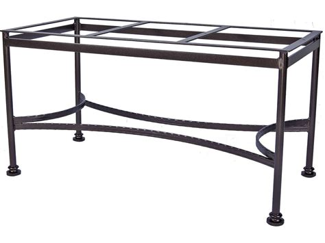 Patio Table Base Ow Classico Wrought Iron Dining Table Base 9 Dt07