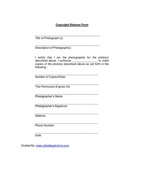 photography waiver and release form template best photos of photo release form template photography