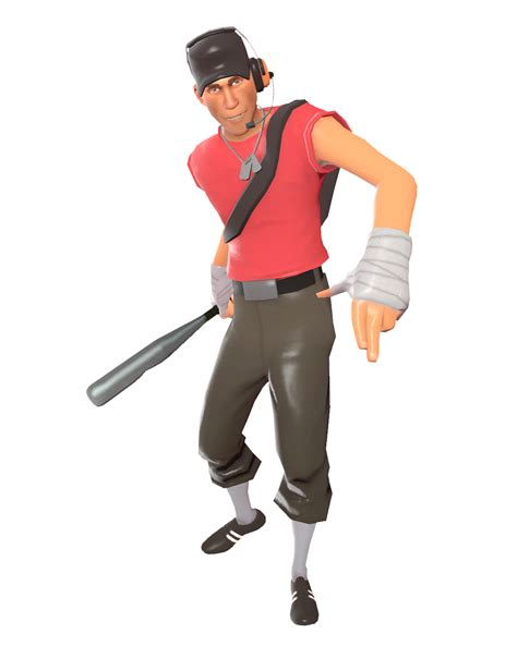 The Scout team fortress 2