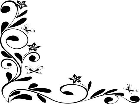 Wedding Border Design Black And White by Borders Design Black And White Clipart Best