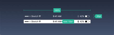 top layout guide under status bar ios tutorials ui sizes layouts