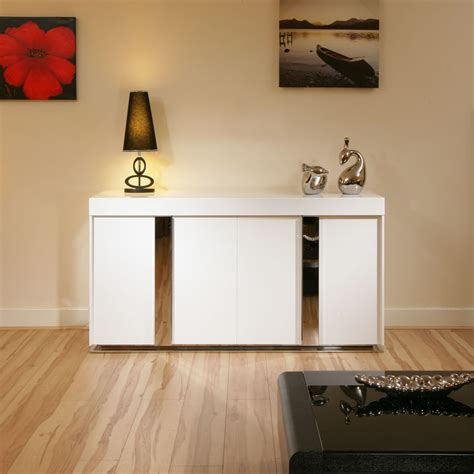 sideboard 1 40 m modern sideboard cabinet buffet in white high gloss 1