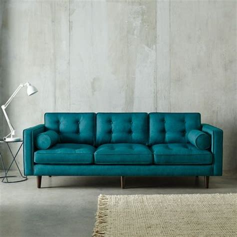teal color sofa copenhagen 3 seat sofa in lido teal limited edition