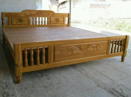 Woden King Size Cot In Factory Price Furniture Anna Nagar