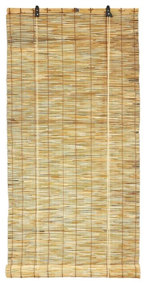 rustic shades reed blind design rustic roller shades