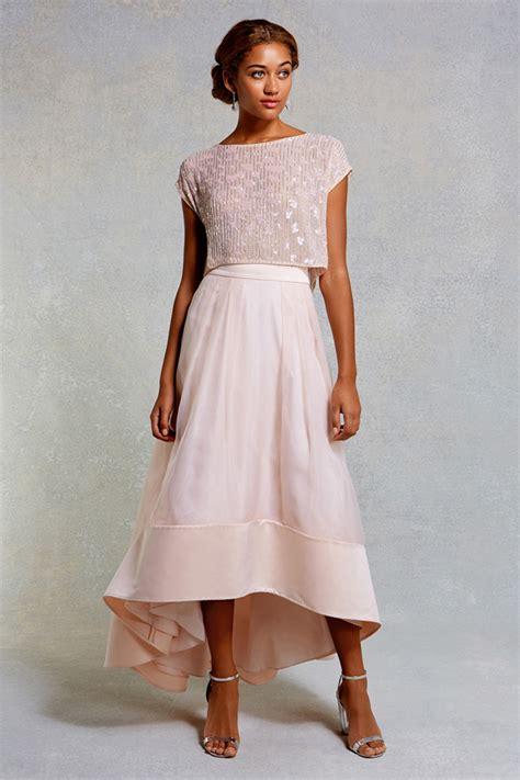 Bridesmaid Dresses Separates Uk - 17 stunning blush bridesmaid dresses weddingsonline