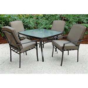 5 patio dining sets sc j 250 2nnset irvington 5 pc patio dining set sears