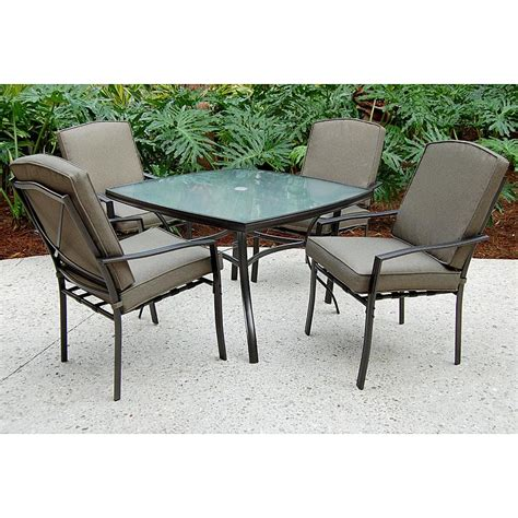 5 Pc Patio Dining Set Sc J 250 2nnset Irvington 5 Pc Patio Dining Set Sears