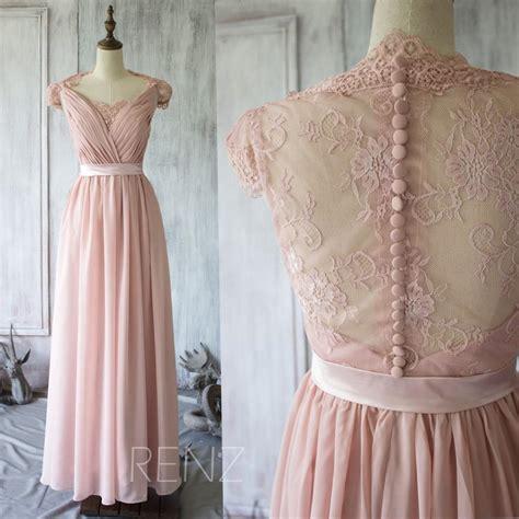 2015 blush bridesmaid dress cap sleeves dusty