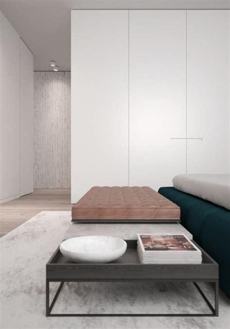 stylishly minimalist bedroom design ideas digsdigs