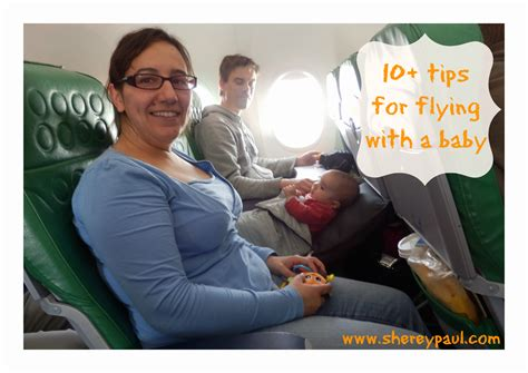 10 Tips For Flying With Baby Or Flights Tips For Flying With A Baby Up To 6 Months