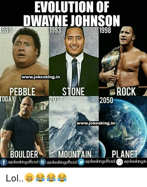 The Rock Memes - the rock evolution meme www pixshark com images