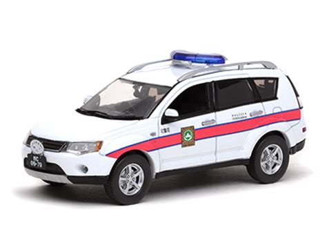 Vitesse: Mitsubishi Outlander Macau Police (29223) in 1:43