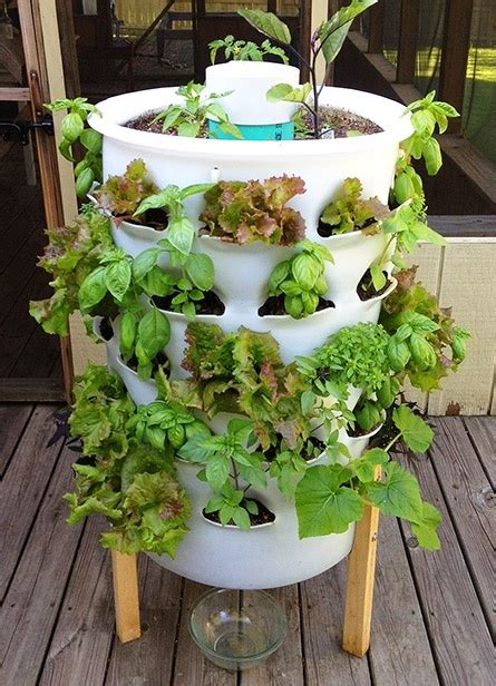 Tower Vegetable Garden Grow Your Own Food 10 Gardening Ideas For The Beginner