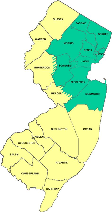 section 8 bergen county nj bergen county nj zip code map pictures to pin on pinterest