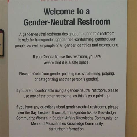 the gender neutral restroom debate right or privilege - Gender Neutral Bathrooms Debate