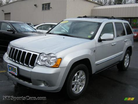 silver jeep grand cherokee 2007 2008 jeep grand cherokee limited 4x4 in bright silver