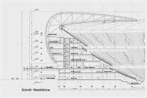 architecture plans allianz arena architectural drawings plans designs