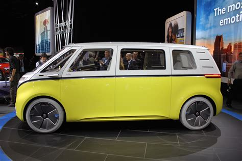 Volkswagen Buzz 2020 by Vw Id Buzz Concept All Electric Microbus Could Arrive In 2022