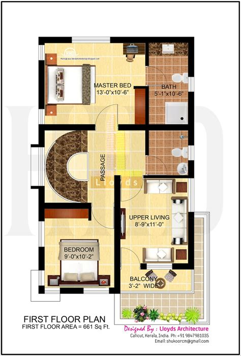 floor plans for 4 bedroom houses 4 bedroom house plan in less that 3 cents home kerala plans