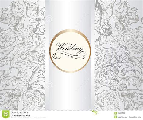 Wedding Card Ornaments by Beautiful Wedding Invitation Ornament Vector Wedding