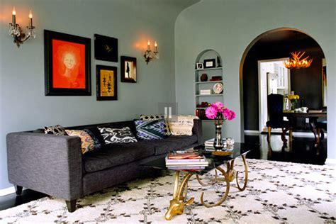 Ikat Pillows Living Room Kishani Perera Re Mix Master Erika Brechtel
