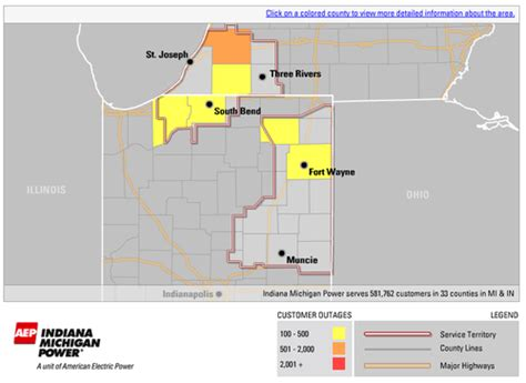 vectren power outage map energy power outages info4disasters