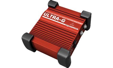 Behringer Ultra G Gi 100 Di Box ultra g gi100 caja directa activa plaza per 250