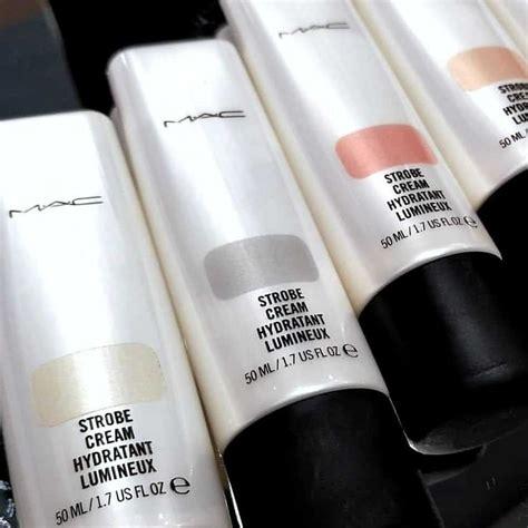 illuminante viso mac mac strobe spray viso crema corpo primer e polveri