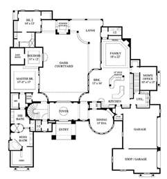 courtyard pool home plans best 25 interior courtyard house plans ideas on pinterest