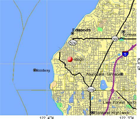 zip code map edmonds wa edmonds zip code map zip code map