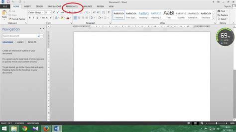 cara membuat daftar pustaka dengan ms word irvan f cara membuat daftar pustaka dengan ms word irvan f