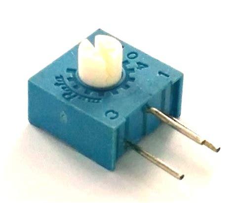 murata resistors 500k ohm trimpot variable resistor murata pot3104x 12 504 west florida components