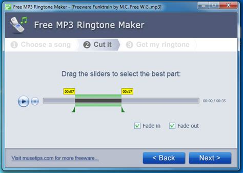 mp3 ring cutter free download for pc make custom ringtones with musetips free mp3 ringtone