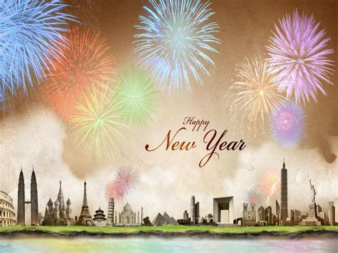 happy new year fireworks wallpapers hd wallpapers images