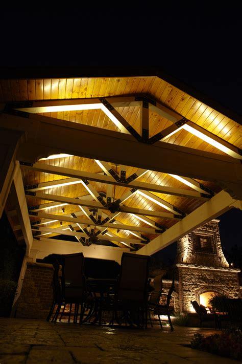 Island Kitchen Lighting Fixtures Gazebo Pergolas And Pavilions Outdoor Lighting In