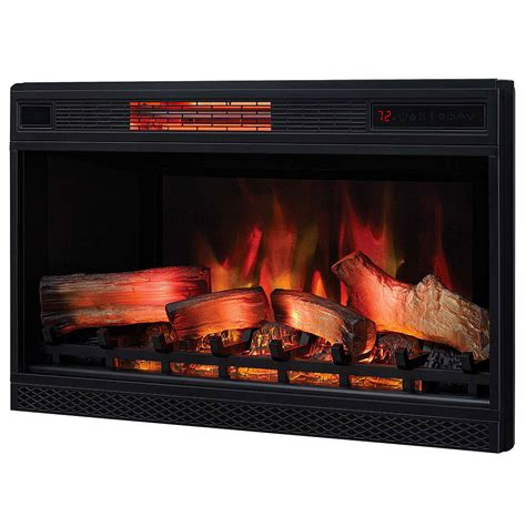 spectrafire electric fireplace classicflame 32 in 3d spectrafire plus infrared electric