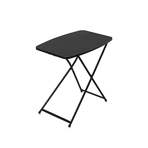 Small Outdoor Folding Table Cosco 174 Personal Folding Table Bed Bath Beyond