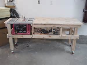 saw and router table extension project youtube
