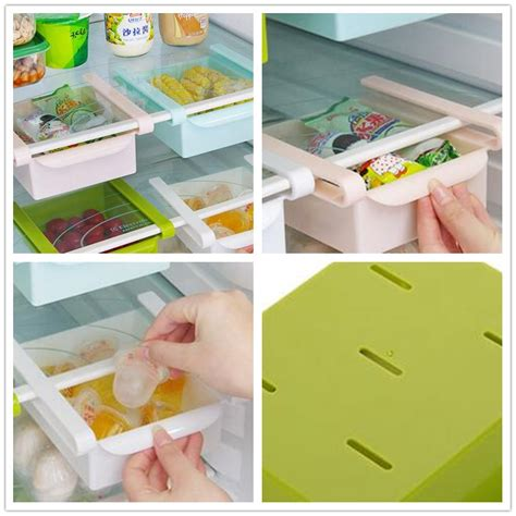 plastic kitchen pull out drawers plastic kitchen refrigerator storage rack fridge freezer