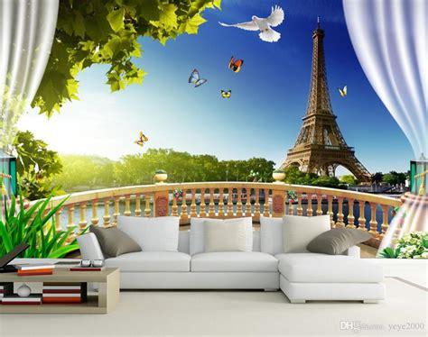 wallpaper  kitchen  balcony landscape eiffel tower