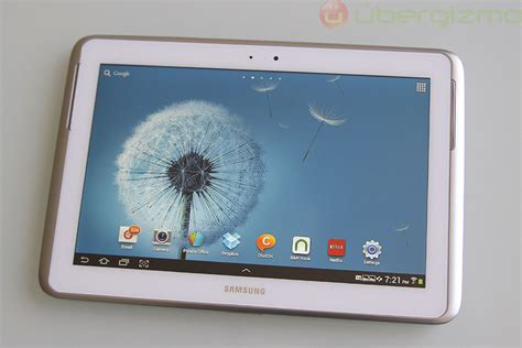 Galaxy Tab Note 1 samsung galaxy note 10 1 review drippler apps news updates accessories