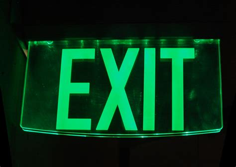Exit Sign file glass exit sign jpg wikimedia commons