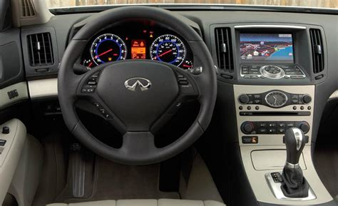 Infiniti G35 Coupe Interior by Car And Driver