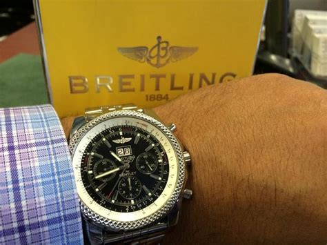 Breitling Bentley On Wrist