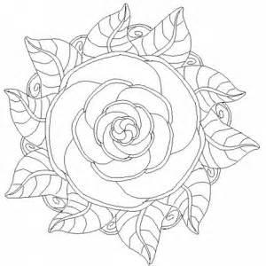 free download rose mandala coloring pages 187 cenul free