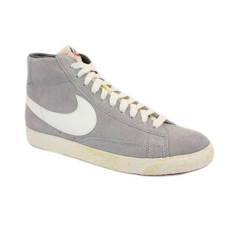 Nike Blazer Nike Blazer Mid Suede Vintage 344344 010 Mens Laced Suede