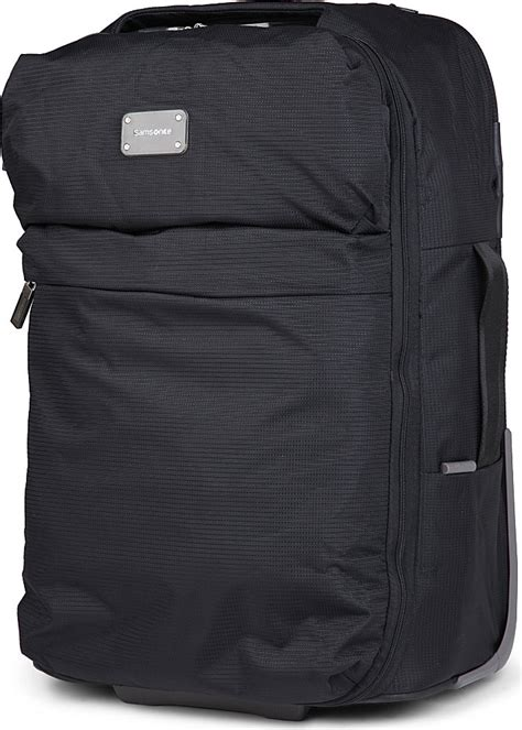 samsonite cabin bag samsonite foldaway cabin bag in black lyst